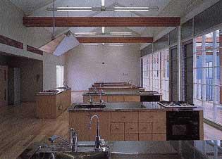 調理実習室(2階)