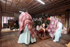 八槻都々古別神社「御田植祭」02