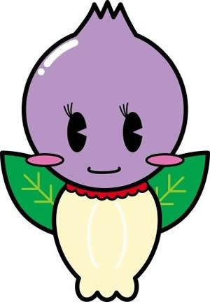 棚倉町ブルーベリー愛クラブのマスコットキャラクター「あいちゃん」