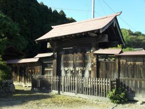『八槻家住宅・表門』の画像